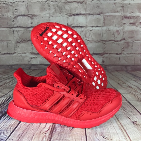 Adidas UltraBoost DNA S&L Lush Red Running Shoes